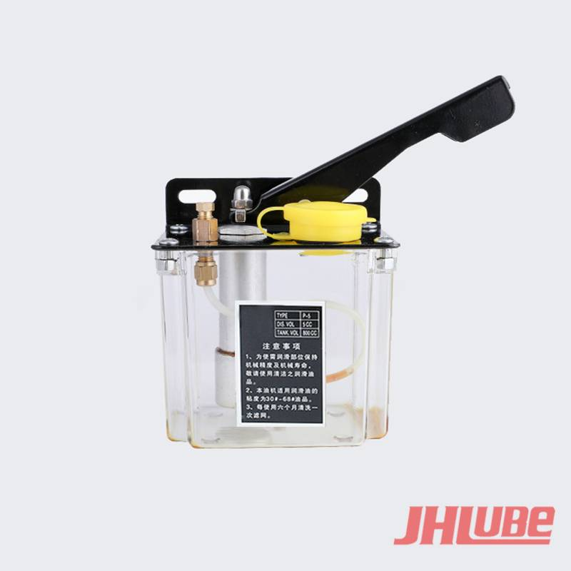 Original Factory Oil Lubricated Bearings - HP-5  Small volume hand plastic piston small portable manual pump – Jianhe