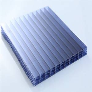 Massive Selection for Fire Proof Polycarbonate Sheets - Polycarbonate Four Wall Hollow Sheet Policarbonato Alveolar Sheets – JIAXING