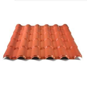 Rome Type ASA Synthetic Resin Pvc Roof Sheet