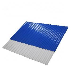 OEM/ODM Factory Color Coated Steel Roofing Sheet - spanish corrugated plastic roofing pvc tiles – JIAXING
