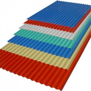 Special Price for Pvc Tile Roofing Accessories - Upvc corrugated roof sheet – JIAXING