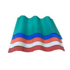Super Lowest Price Unbreakable Solid Pc Panel - PVC ASA Roof Tile Panel Sheets Pvc Roof Sheet – JIAXING