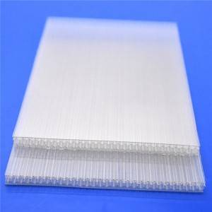 Factory Price For China Manufacturer Width 1220mm Solid Polycarbonate Solid Pc Sheet Plastic Sheet - 8mm honeycomb hollow polycarbonate polycarbonate pc sun panel – JIAXING