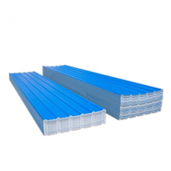 three layer upvc plastic corrugated roofing shingles sheet