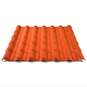 Anti-Corrosion ASA Coated PVC Spanish Roofing T...