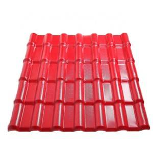 Waterproof plastic pvc roofing sheet asa synthe...