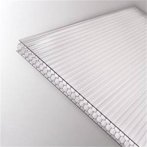 Bottom price Buy Polycarbonate Sheets - High Impact Resistance Honey Comb Polycarbonate Hollow Sheet – JIAXING