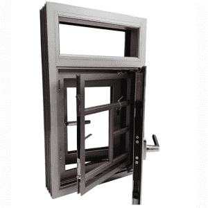Insulated aluminum alloy doors and windows