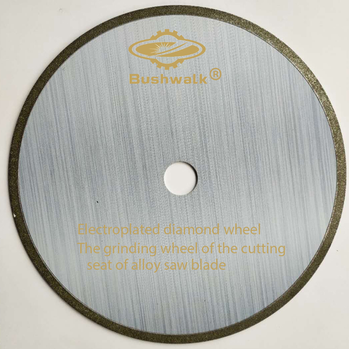 Factory Cheap Hot Mdf Sharpening Wheel - Electroplated diamond wheel for Saw blade open teeth 1A1 250X25.4X2.5 – Jingyunxiang