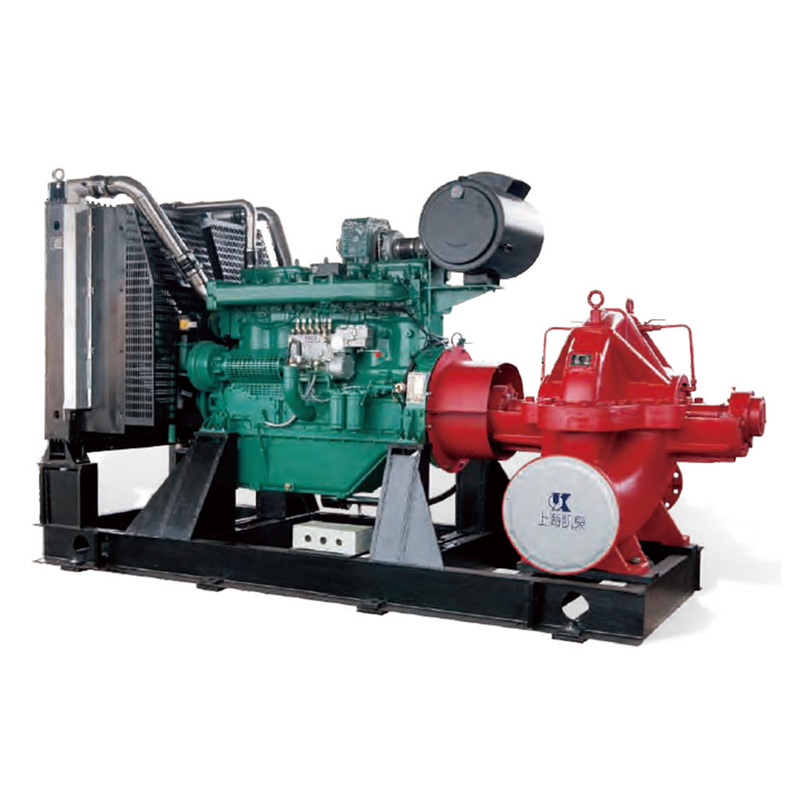 New Delivery for Diesel Engine Fire Pump Set - Diesel Firefighting Pump – KAIQUAN