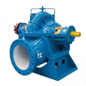 Factory Free sample Horizontal End Suction Chemical Pump - KQSS/KQSW Series Double Suction Pump  – KAIQUAN