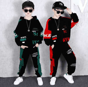 Famous Best Stacked Joggers Set Factories - Children Tracksuit Kids Clothing Sets Baby Girls Fashion Sports Suits Hoodies Sweatshirts+Pants 2 Pcs Among Us Clothes – Kaishun