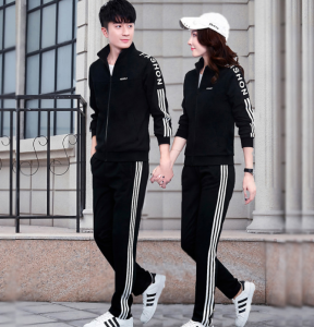 High Quality High Quality Jogging Pants Sets Cotton Suppliers - Winter Mens Tracksuit Hoodie Sets Mens Tracksuit 2 Pieces Set Men Zipper Stand Collar Jacket+Pants 88 Printed Sportswear Tracksuit S...