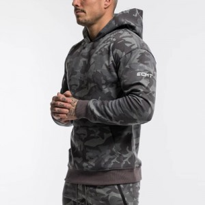 China Discount Tracksuit Men Exporters - Camouflage Hoodies Men 2020 New Fashion Sweatshirt Male Camo Hoody Hip Autumn Winter Military Hoodie Mens Clothing US/EUR Size – Kaishun