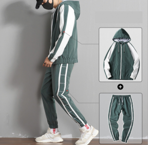 Famous Best White Joggers Exporters - Custom Jogging Set High Quality Tracksuit Latest Fashion Slim Fit TracksuitTracksuits Set Men Tracksuit Sweatsuit Custom Tracksuit  summer Mens Tracksuit Hood...