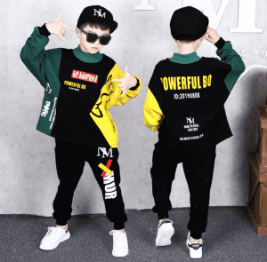 spring/Autumn Boys Tracksuit Kids Clothes Sets Cotton Jackets + Pants 2 Pcs Sport Suit Children Clothes Set Costumes Outfit 2-13 Years