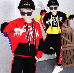2020 Spring New Hot Boys' Suits Children's Long-sleeved Hooded Sweatershirt + Trousers Clothes Kids Tracksuit Autumn Outwear Set