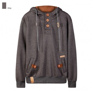 Popular Hoodies Men Long Sleeve Warm Soft Fleece Pullover Sweatshirts Tops Mens Pure Color Streetwear Plain Hoodie