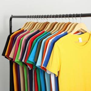 Brand New Man T-shirt Casual Short Sleeve Shirt Men Soild Color Blank T Shirts Tops Male Plain Plus Size T Shirt S-5XL
