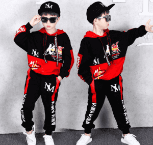 2-16Years Kids Game Impostor Among Us Clothing Sets Children printing cotton Suit Boys Tracksuits Girls Hoodies Top +Pants 2pcs Set