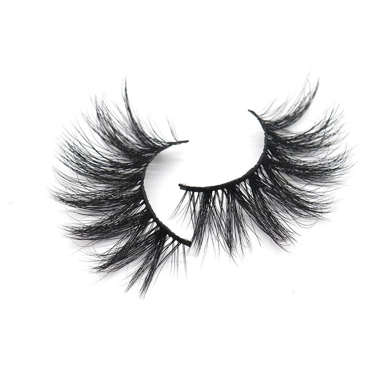 Good Quality False Eyelashes - Custom Eyelash Packaging Soft Thick Handmade 25mm 3d Mink Eyelash – Weiti