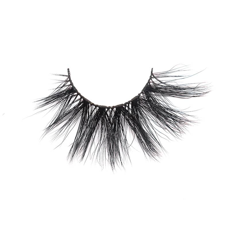 Good Quality False Eyelashes - Custom Eyelash Packaging Soft Thick Handmade 25mm 3d Mink Eyelash – Weiti Featured Image
