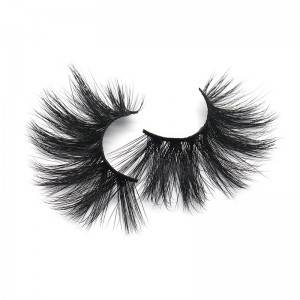 ALLISON Style Wholesale Private Label 25mm Mink False Eyelashes