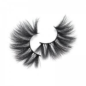 Manufactuer Wholesale ARIEL Style 25mm 3d Mink False Eyelashes Vendors
