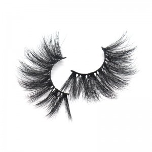 Factory Cheap Hot China Eyelashes - Lash Vendors Custom Private Label Bulk 25mm 3d Mink False Lashes – Weiti