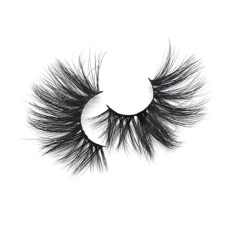 Professional China Full Strip Lashes - Super Charming 100% Hand Made 3D 25mm Color Mink Lashes False Eyelash – Weiti