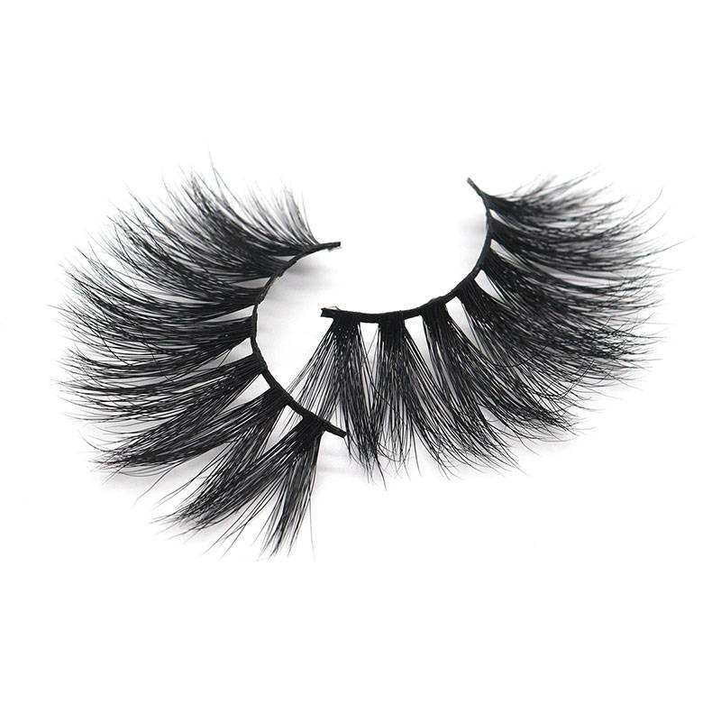 Short Lead Time for Thick False Eyelashes - China Eyelash Factory OEM ODM Wholesale Cruelty Free 25mm Mink False Lashes – Weiti