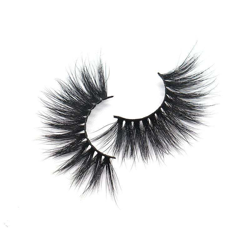 China Factory Bulk 3d Eye Lashes Wholesale 25mm Mink Strip Lashes Featured Image