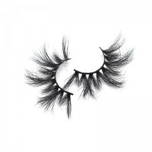 Wholesale 100% Real Mink 25mm 5D Eyelash Individual Mink Eyelashes