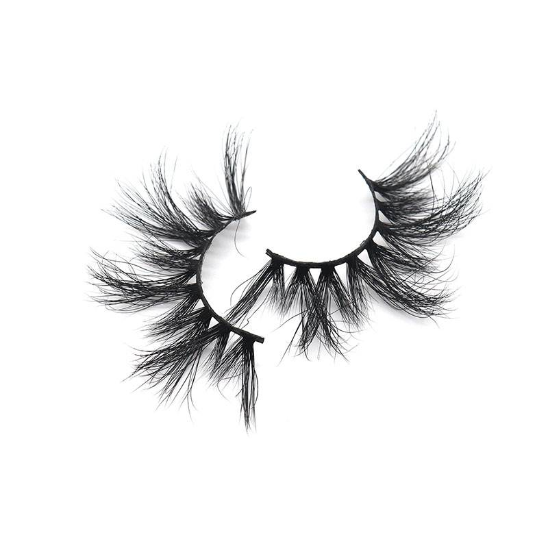 Good Quality False Eyelashes - Wholesale 100% Real Mink 25mm 5D Eyelash Individual Mink Eyelashes – Weiti