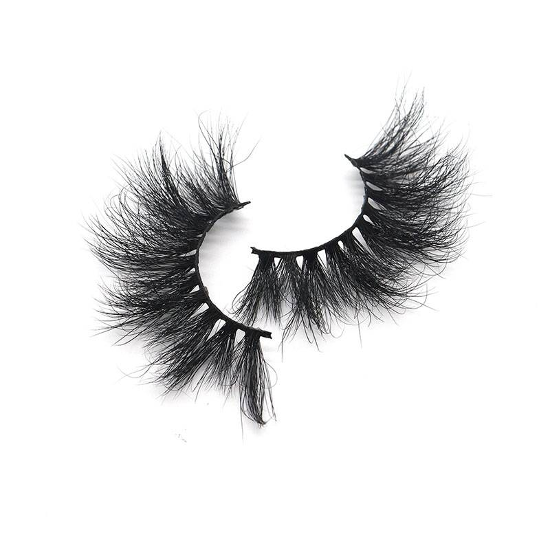 8 Year Exporter Strip Eyelash Extensions - Customized 5d 100% Mink Lashes Strip 25mm Long Dramatic False Eyelashes – Weiti