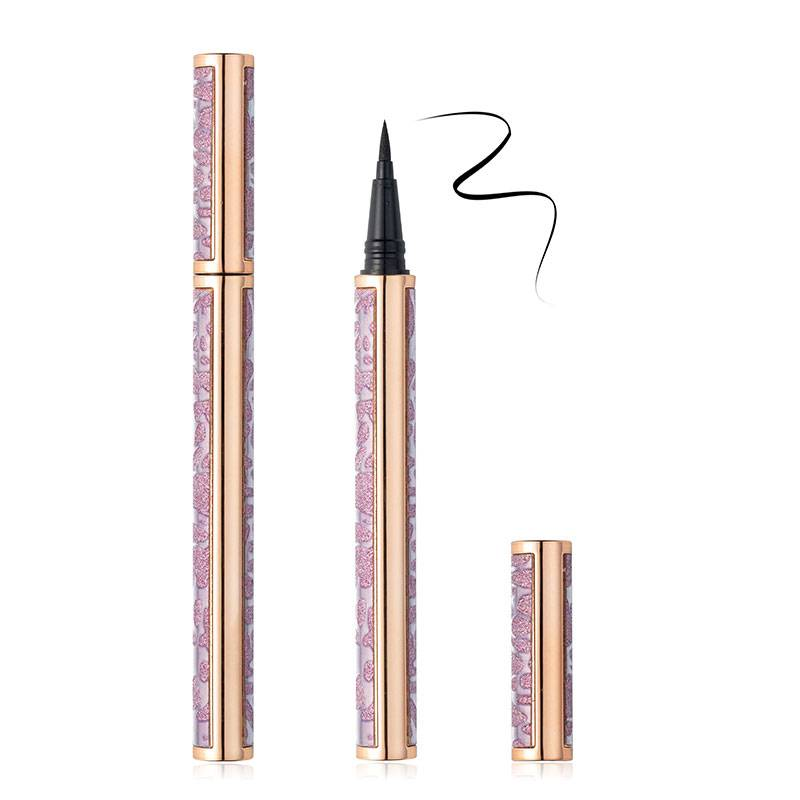 Cheap PriceList for Magnetic Eyeliner And Lashes - Professional Adhesive Black Eyeliner Waterproof Eye Liner Glue Pencil Makeup Cosmetic – Weiti