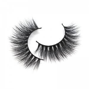 Fluffy Wholesale 3D Strip Mink Eyelash Manufacturer Long Luxury Lashes Vendors