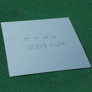 Factory Price 3003h14 Aluminum Sheet - 3004 ALUMINUM SHEET – Kaichuang