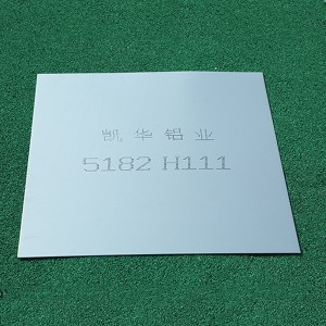 2020 High quality Aluminum Sheet Manufacturer - 5182 ALUMINUM SHEET – Kaichuang