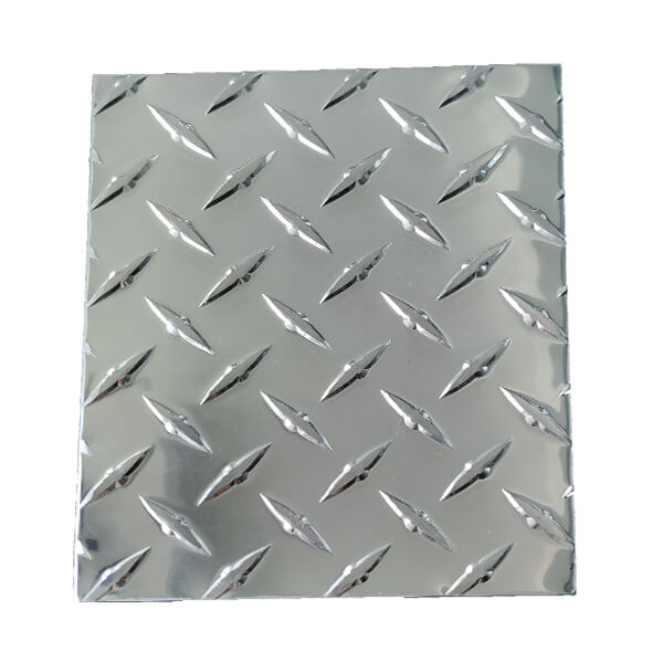 Diamond checkered aluminum plate for toolbox Featured Image