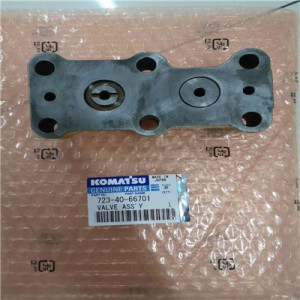 OEM/ODM Manufacturer Master Pin Press - Komatsu pump valve assembly original  723-40-66701 – Kevin