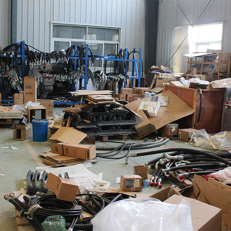 XCMG excavators spare parts to Latin American!!!