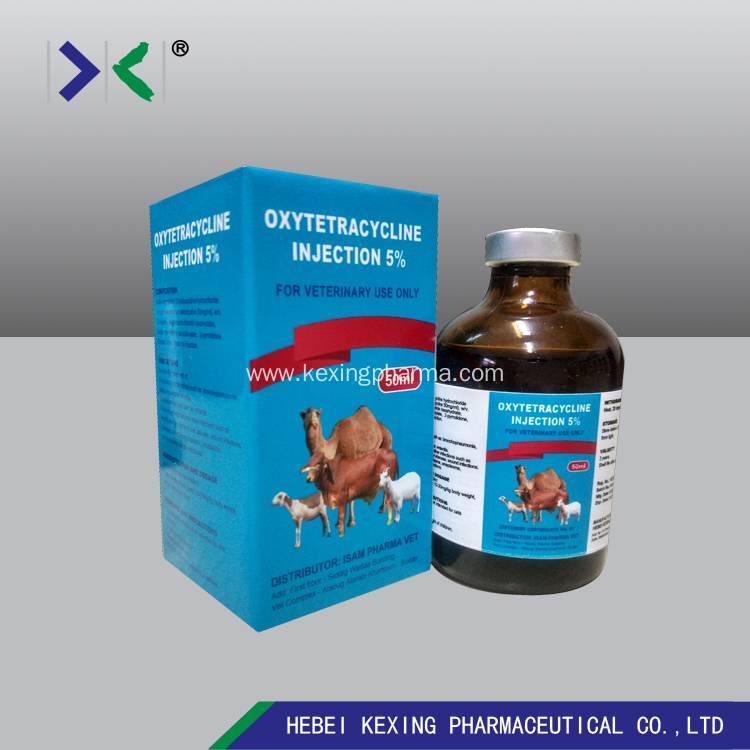 Animal Oxytetracycline 5% Injection