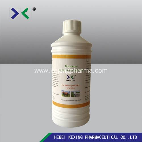 PriceList for Oxfendazole Bolus For Animal Factory - Menthol and Bromhexine 100ml Solution – Kexing