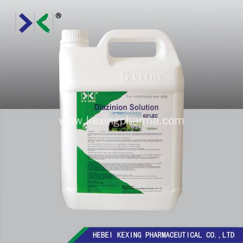 Bottom price Tylosin Tartrate 10% Manufacturers - Animal Diazinon Solution 60% – Kexing