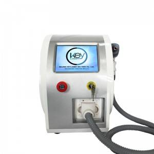 Nd Yag Laser - 2021 Portable q-switch nd yag laser beauty device for tattoo removal and carbon peeling – KEYLASER