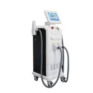 Hot sale Multifunction 4 In1 Double Iplrflaser Machine - Vertical diode laser conbine yag laser ipl shr elight rf multi functions machine – KEYLASER