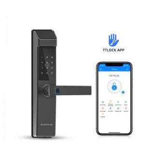 Renewable Design for Digital Lock App - New Arrival N3T With TT Lock APP Bluetooth Control Fingerprint Locks Short – KEYPLUS