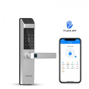 N3T With TT Lock APP Bluetooth Control Fingerprint Electronic Safe Door Lock
