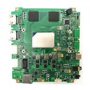 All-in-one computer motherboard